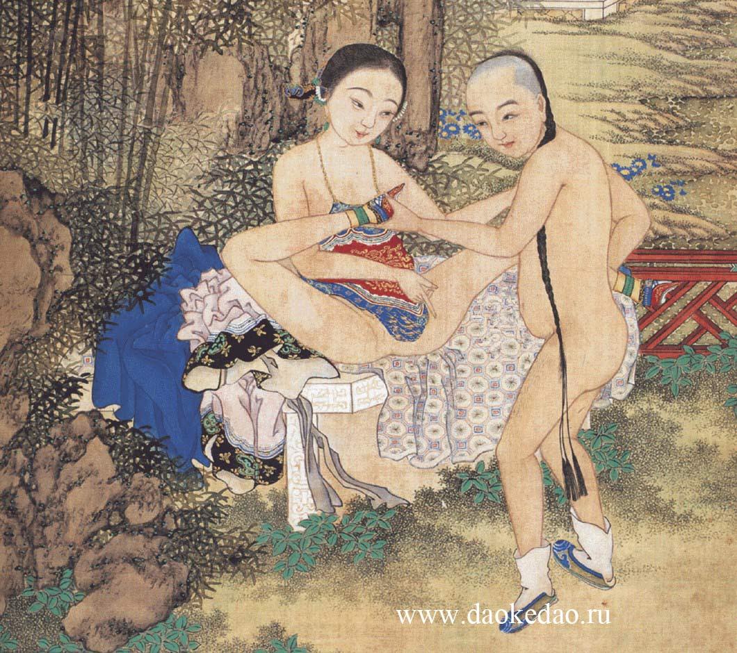 Китайская эротическая живопись