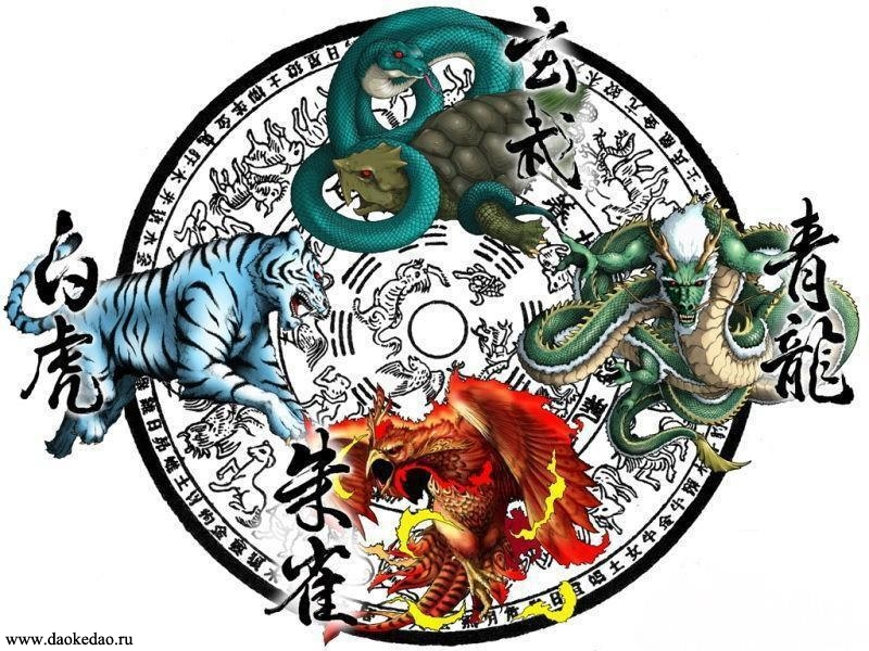 Четыре священных животных